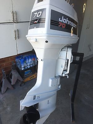 70hp Johnson Vro Outboard Motor (Will Freight Australia Wide.)
