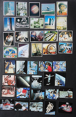 SPACE EXPLORATION & LIVING IN SPACE CARDS  x 40 Sanitarium New Zealand 1986 & 92