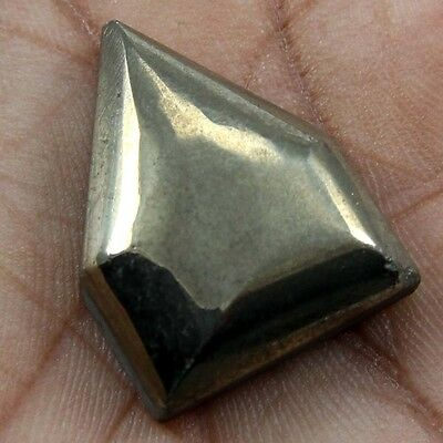 53.25 cts Natural Beautiful Golden Pyrite Gemstone Fancy Shape Loose Cabochon