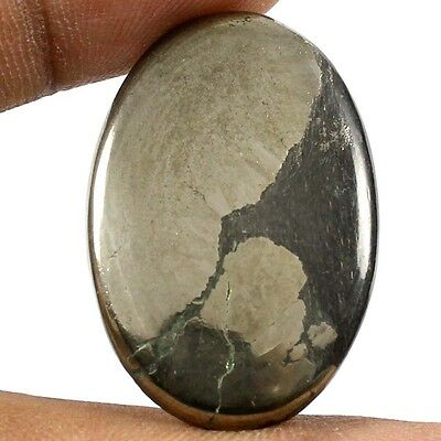 36.30 ct Nice Quality Natural Apache Gold Pyrite Designer Cabochon Oval Gemstone