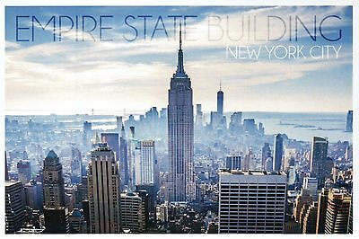 Empire State Building New York City NY, One World Trade Center - Modern Postcard