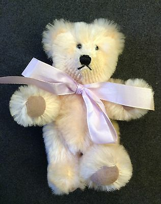 Beau Bears...Mohair Teddy..Fully Jointed 5 inches.