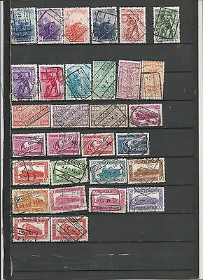 Railway related stamps and cancellations,worldwide