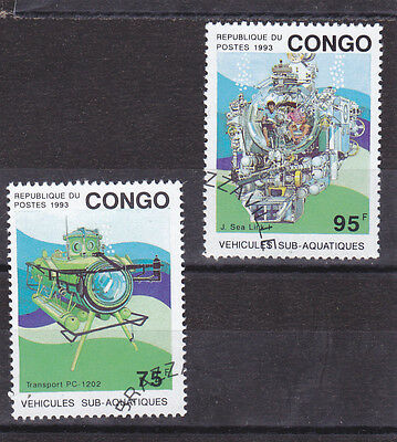 Stamps of the Congo.