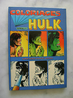 MARVEL - Coloriages HULK - Artima color - 1980