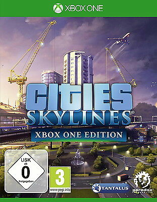 Cities: Skylines (Microsoft Xbox One, 2017, DVD-Box)