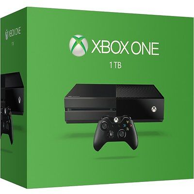 New Xbox One 1Tb Console + 2 Controllers + Headset