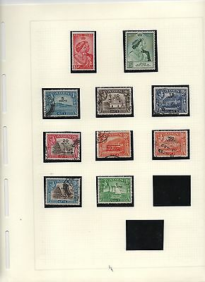 Timbres Collections Colonies Commonwealth