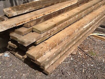 reclaimed 6metre joists 6ins by 2ins