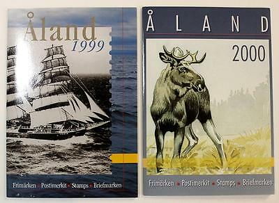 Finland Aland 1999 & 2000 Year Packs