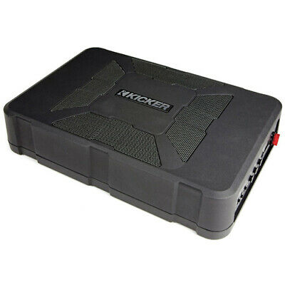 Kicker Hideaway Underseat Car Subwoofer (HS8) with GEN KICKER WARRANTY