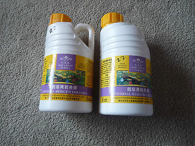 Effective Multi Purpose Medication for All Kind of Fish Disease. 600ml/bottle.