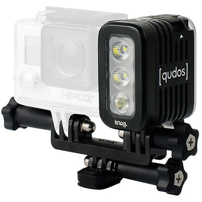 Knog [qudos] ACTION Video Light for GoPro HERO cameras - Black