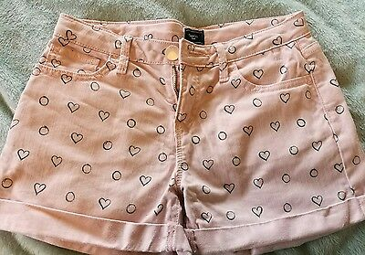 pink girls shorts from gap 12 years