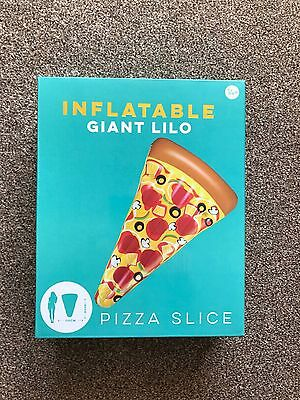 Giant Inflatable Pizza Slice Pool Float Beach Lounger Lilo Swimming Pool Float