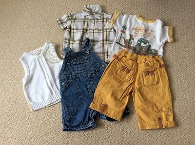 baby boy's bundle of clothes, age 6 months, French clothes