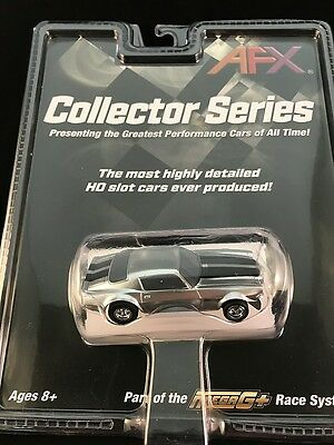 Afx Mega G Plus Chevy Camaro Z28 Tomy Aurora Silver Collector Series