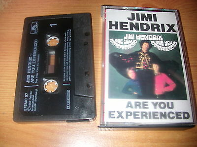Jimi Hendrix     Are You Experience    Cassette