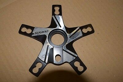 SUGINO spider power disc Old School Bmx black/silver bcd 110mm/130mm NOS 1980s