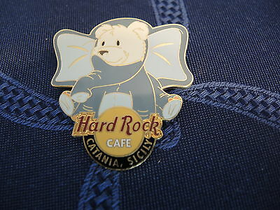 Pin Hard Rock Cafe Catania Bear Teddy Bär Neu !!