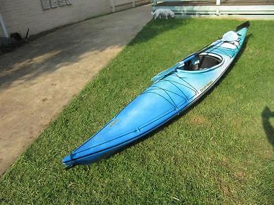 CANOE Pacific brand single man 4.2m + double intereptor paddle - Cardiff England