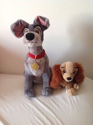 Disney Lady And The Tramp Plush Toys