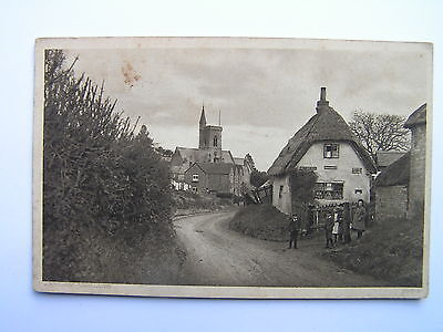 Akeley Village Buckinghamshire Postcard c1910