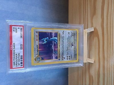 psa 9 dragonair base set 18/102 1st edition