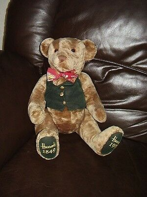 Large Harrods 150th Anniversary teddy bear
