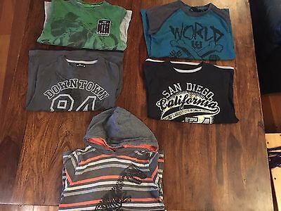 Boys size 8 Tshirt/Bulk/winter/tshirts/pumpkin Patch As New/bulk/long Sleeve