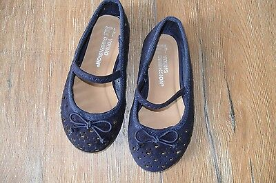 Baby Girls Blue Shoes size6 NWOT