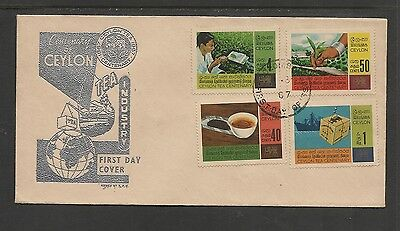 Ceylon / Sri Lanka  FDC 1967 Centenary of Tea Cultivation in Ceylon