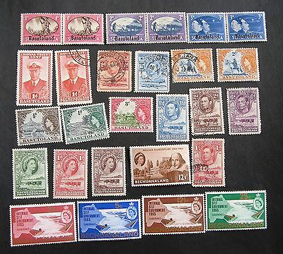 Basutoland and others mint and used