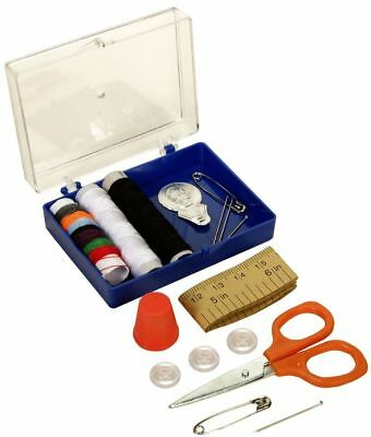 Travel Size Pocket Sewing Accessories Supplies Kit Set In Case Organiser