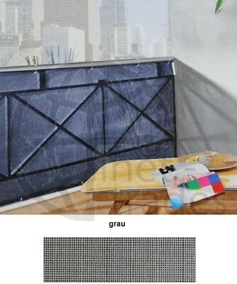 Screen Grey for Balcony 500 90 cm Covering Screen on the side panelling