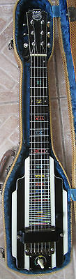 1940 National New Yorker Lap Steel Guitar, Rare Version w Geib Case ~ REDUCED !!