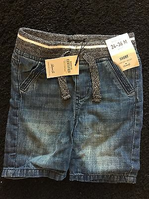 brand new with tags boys jean shorts age 24 - 36 months