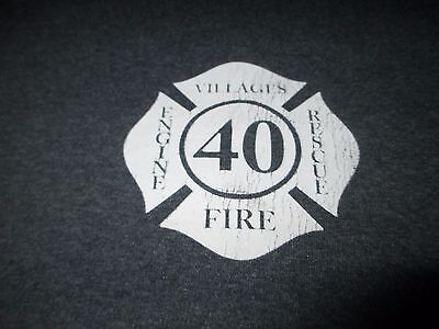 THE VILLAGES Florida Station 40 FIRE Rescue T  Shirt XLarge