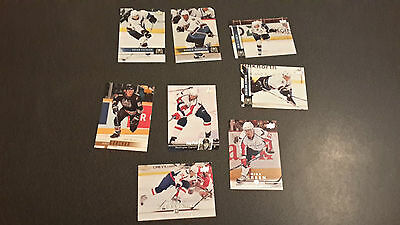 NHL Trading Cards Washington Capitals Upper Deck