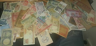 world banknotes lot x68