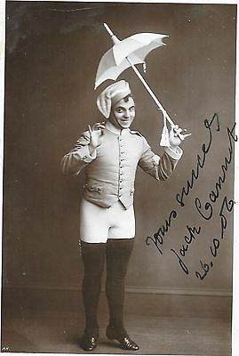 Jack Cannot ~ Hand Signed Autographed Postcard ~ Theatre Performer