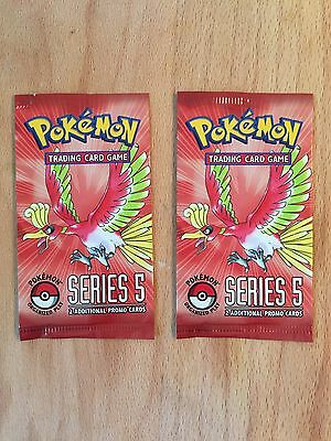 Pokemon POP 5 2x Booster English Series Gold Star Umbreon Espeon Sealed