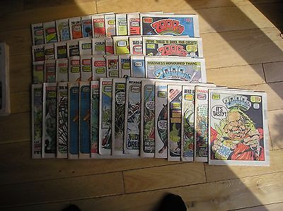 93  2000AD comics  from 1981/82/83/84/85 as seen