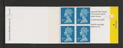 At below face value GB MNH 4 @ 2nd class stamps by Walsall