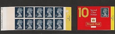 At below face value GB MNH 10 @ 2nd class stamps by Walsall