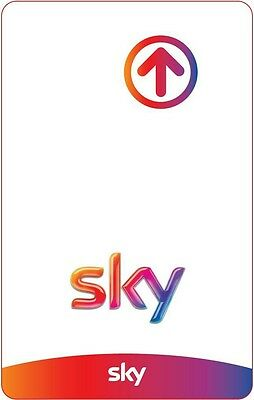 Tessera Smart Card Sky Prepagato Sky TV + Calcio HD