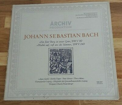 The works of Johann Sebastian Bach vinyl (Ex+) Beautiful set recorded in 1966