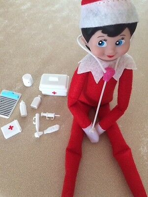 Elf Doll Props Can Sit On The Shelf Medical Set