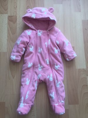 New Without Tags M&S Fleece Pramsuit Age 0-3 Months RRP £18