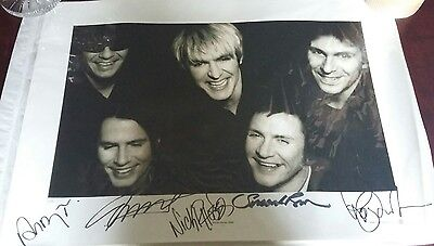 Duran Duran reunion 2002 limited edition numbered signed print